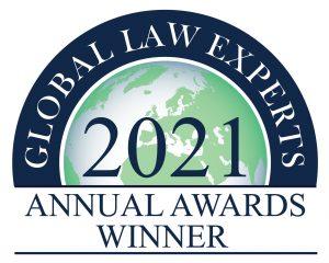 2021 GLE ANNUAL AWARDS WINNER